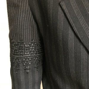 Dior Jackets & Coats - Christian Dior Pinstriped Blazer